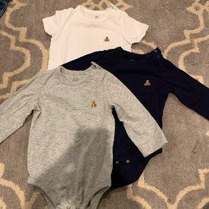 Baby gap basic onesies